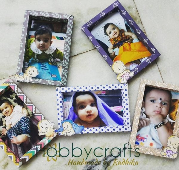 Oh My Baby  photo frames- DIY