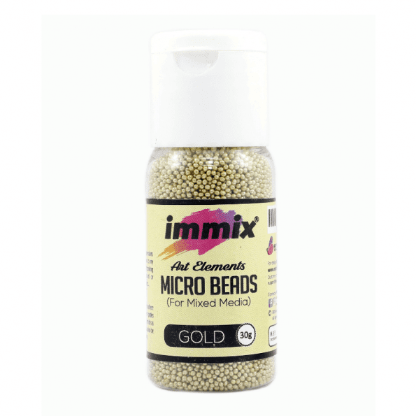 Gold micro beads