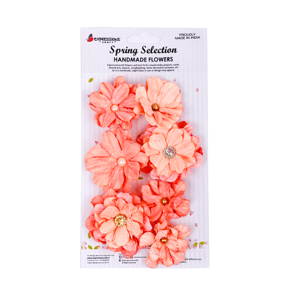 handmade paper flowers for decoration