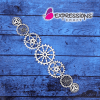 Steampunk Gears Chipboard Embellishment